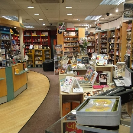 bookstore entrance